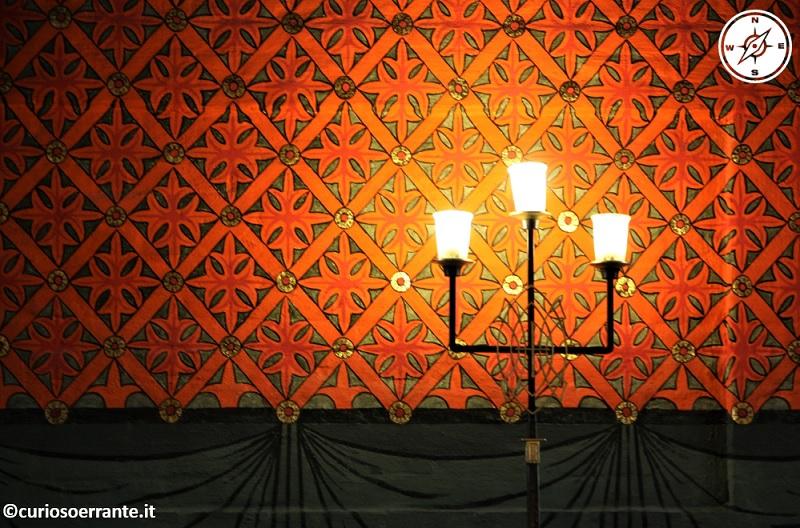 Oslo - Akershus Slott - decorazioni delle stanze interne