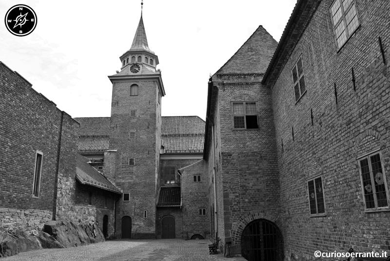 Oslo - Castello di Akershus Festning - Cortile interno