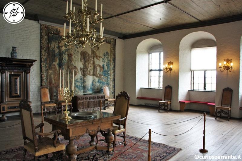 Oslo - Castello di Akershus Festning - Sala di Cristiano IV