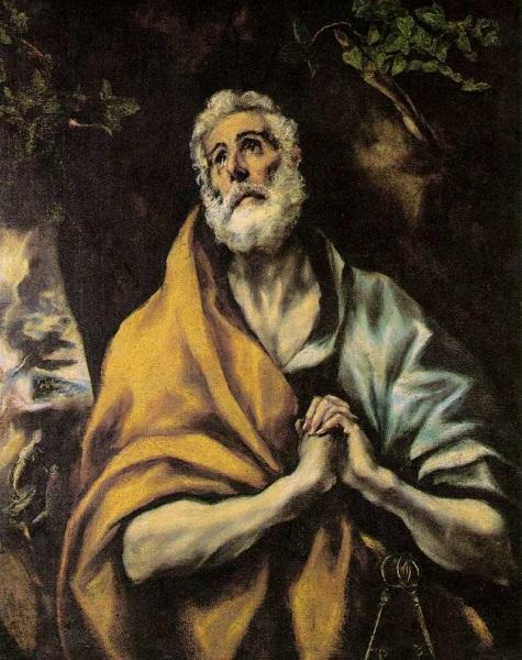 Oslo - Pietro penitente di El Greco