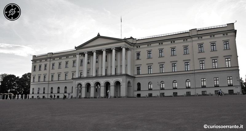 Oslo - Slottet - Il palazzo Reale