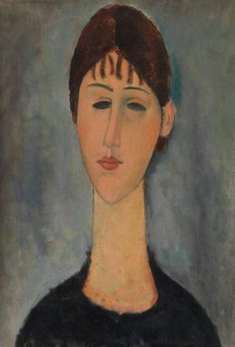 Ritratto di Madame Zborowska - Modigliani
