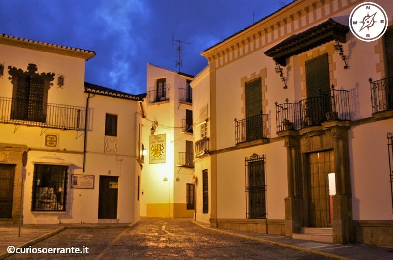 Ronda - abitazioni del centro storico