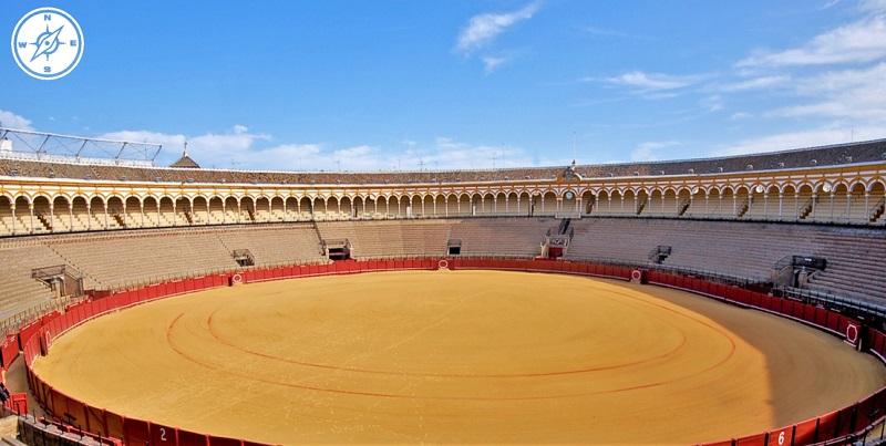 Siviglia - Arena di Siviglia Plaza de Toros de la Maestranza