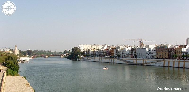 Siviglia - Il fiume Guadalquivir