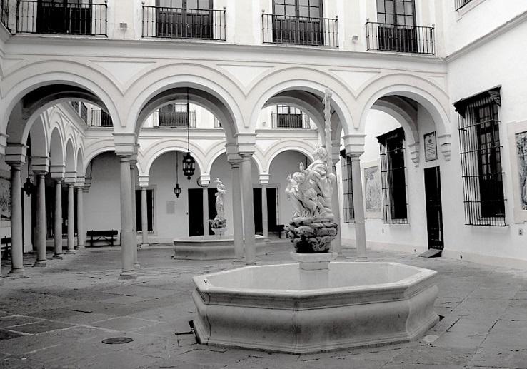 Siviglia - Patio dell'ospedale Hospital de la Caridad