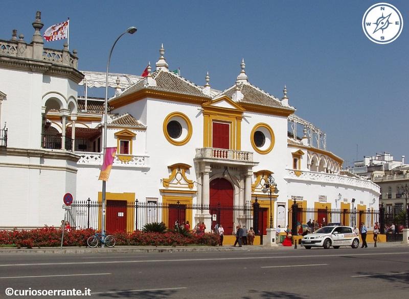 Siviglia - Plaza de Toros de la Maestranza arena di Siviglia
