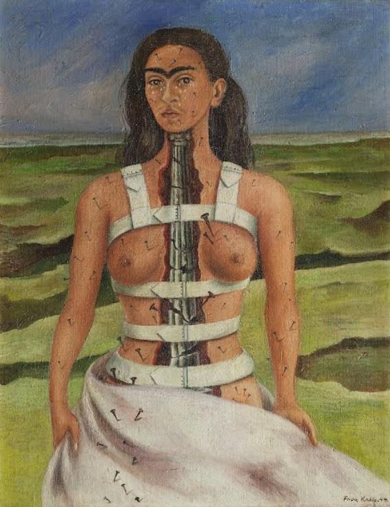 Frida Kahlo - La colonna spezzata 1944