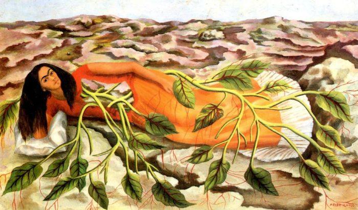 Frida Kahlo - Radici (1943)