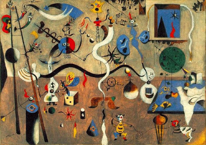 Joan Miró - Il carnevale di Arlecchino (1924)