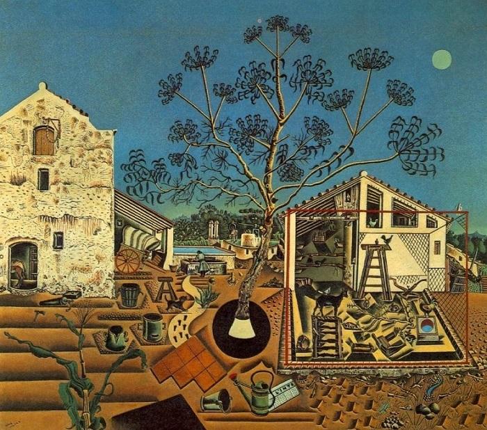 Joan Miró - La fattoria (1922)