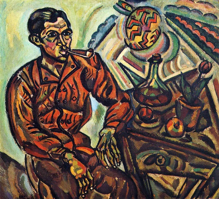 Joan Miró - Portrait of Vincent Nubiola (1917)