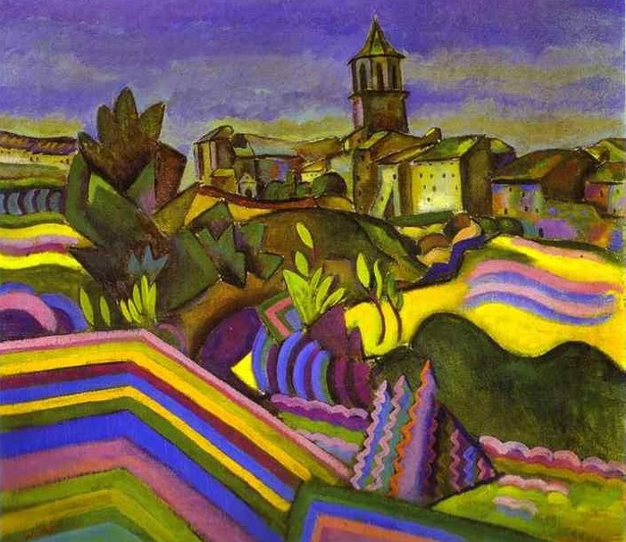 Joan Miró - Prades the village(1917)