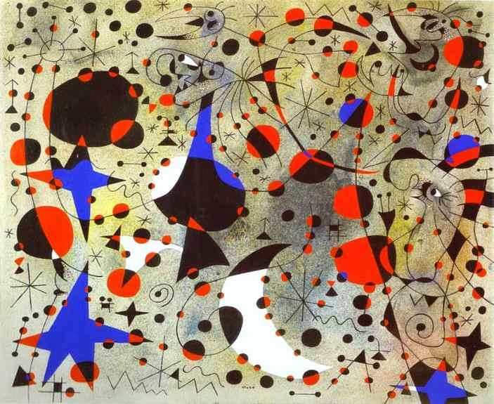 Joan Miró - The Nightingale's Song at Midnight and the Morning Rain (1940)