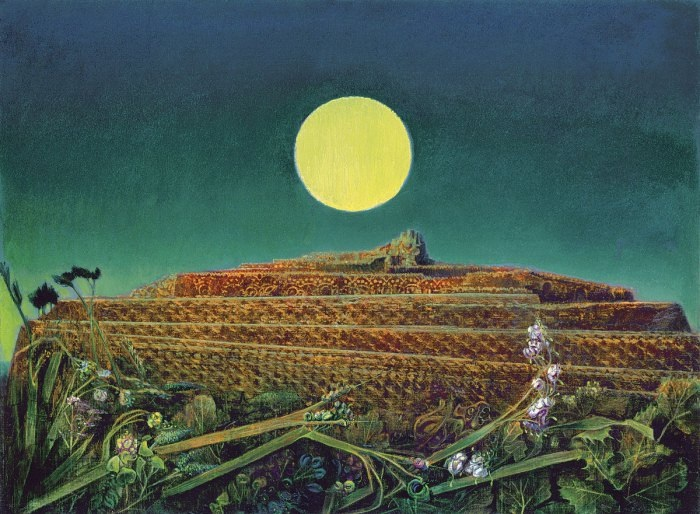 Max Ernst - The entire city (frottage)