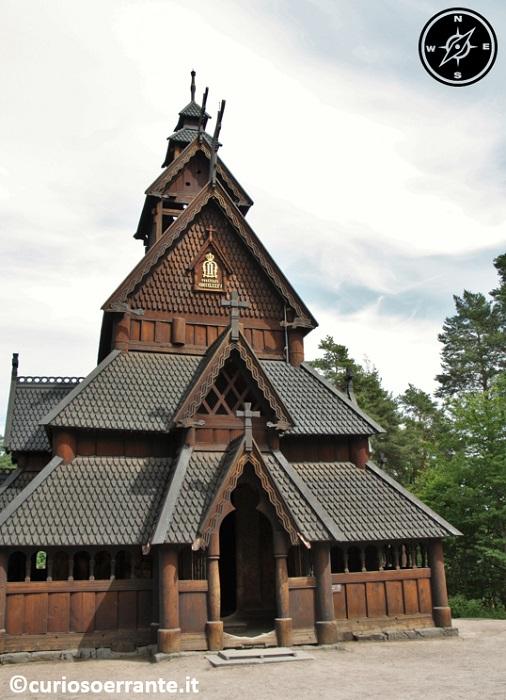 Norsk Folkenmuseum di Oslo - Chiesa di Gol