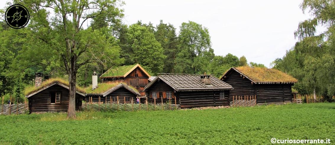 Norsk Folkenmuseum di Oslo - I villaggi e le fattorie di epoche passate