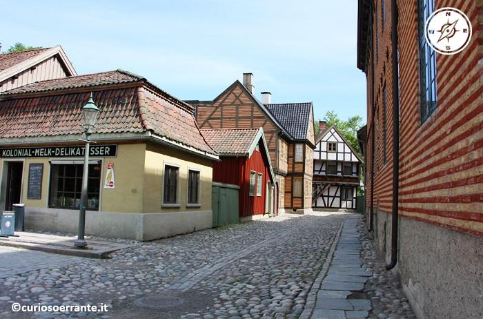Norsk Folkenmuseum di Oslo - altro scorcio di Gamlebyen