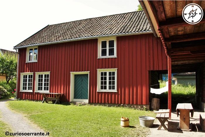 Norsk Folkenmuseum di Oslo - fattoria originale