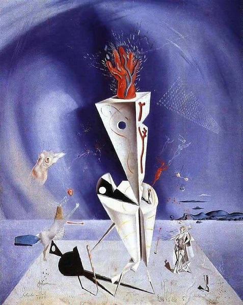 Salvador Dalì - Apparatus and Hand (1927)