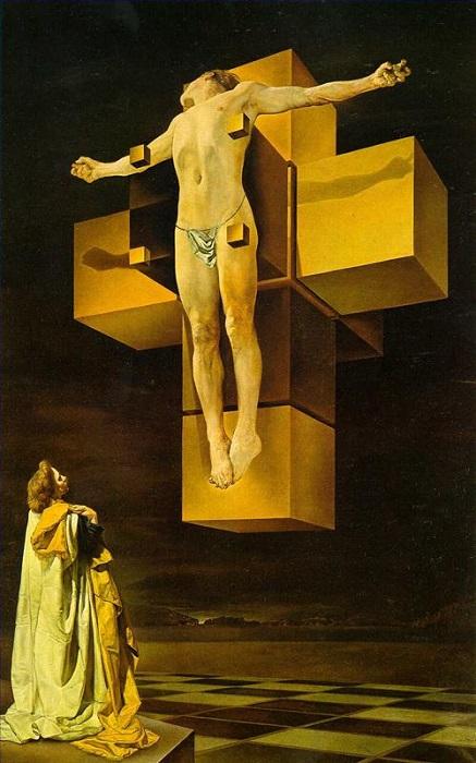 Salvador Dalì - Corpus hypercubus (1954)