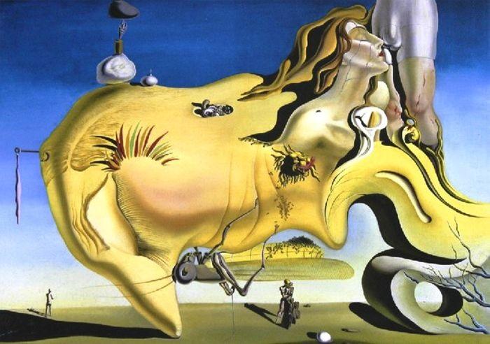 Salvador Dalì - Il grande masturbatore (1929)