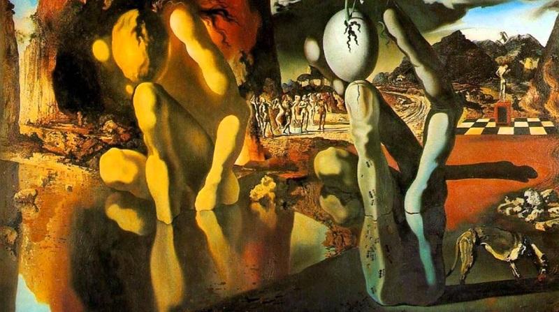 Salvador Dalì - La metamorfosi di narciso (1937)