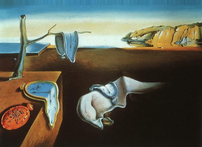 Salvador Dalì - Persistenza della Memoria (1931)