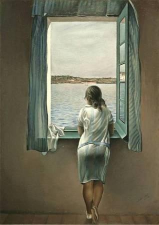 Salvador Dalì - Ragazza alla finestra (1925)