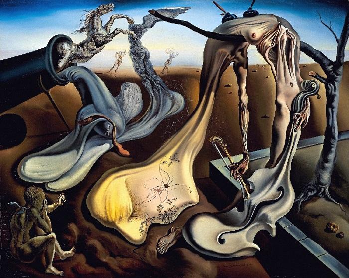 Salvador Dalì - Ragno di sera (1940)