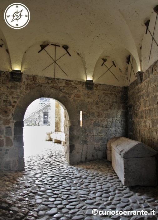 entrata al castello della Badia