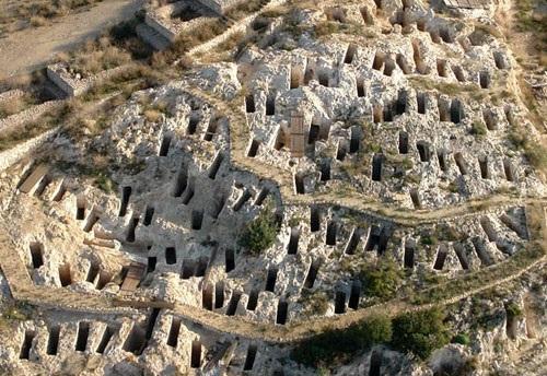 Cagliari - necropoli di Tuvixeddu
