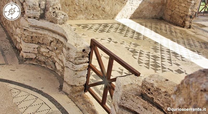 parco archeologico di vulci - mosaici
