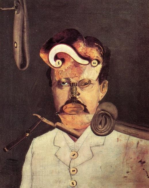 George Grosz - Ein Opfer der Gesellschaft (1919)