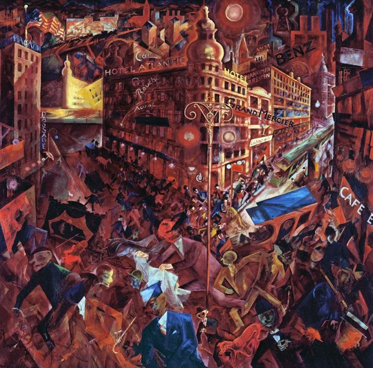 George Grosz - Metropolis 1916-1917