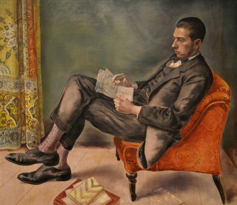 Portrait of Dr. Felix J. Weil (1926), George Grosz