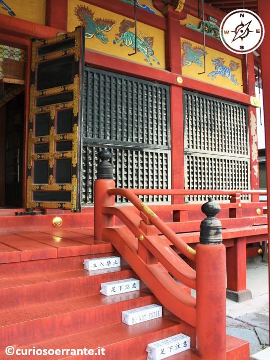 Tempio Senso-ji Tokyo - Asakusa Jinja santuario del 1649