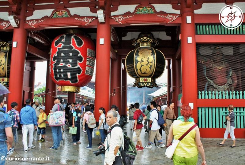 Tempio Senso-ji Tokyo - Porta Hozo-mon 2