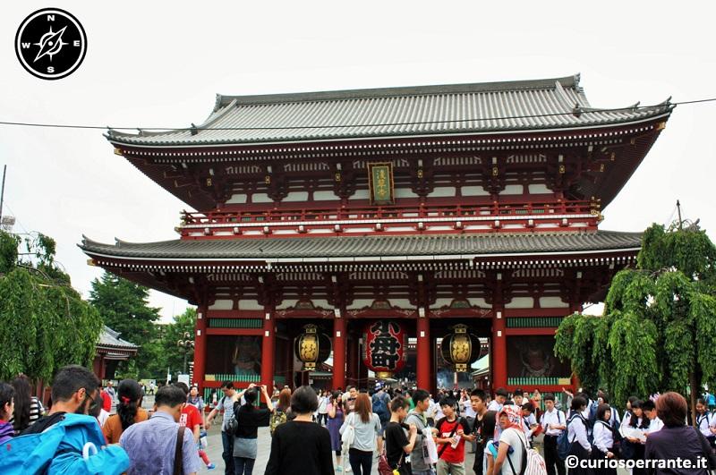 Tempio Senso-ji Tokyo - Porta Hozo-mon