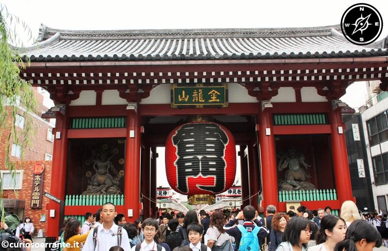 Tempio Senso-ji Tokyo - Porta Kaminarimon