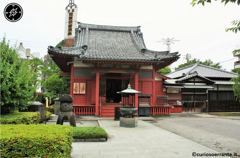 Tempio Senso-ji Tokyo - la sala Awashima-do