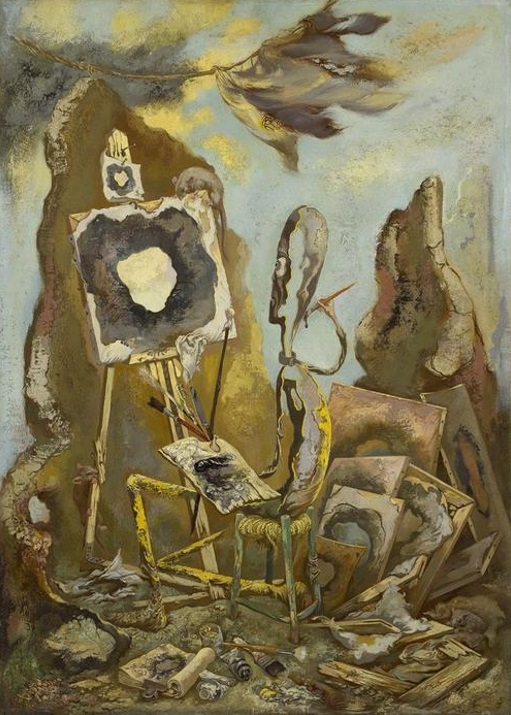 The painter of the hole II (1950)