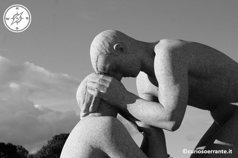 Vigelandsparken Oslo - Il monolito statue