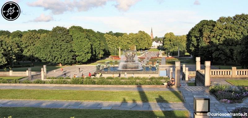 Vigelandsparken di Oslo