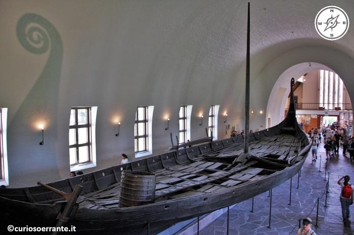 la nave vichinga di Oseberg