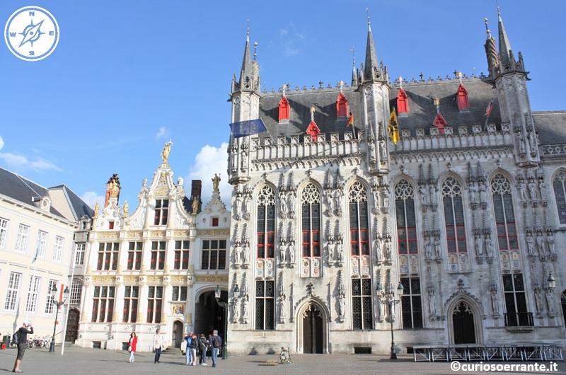 Bruges - Il Burg - Palazzo comunale