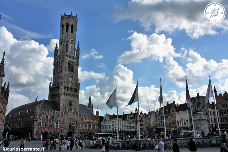 Bruges - La piazza del mercato