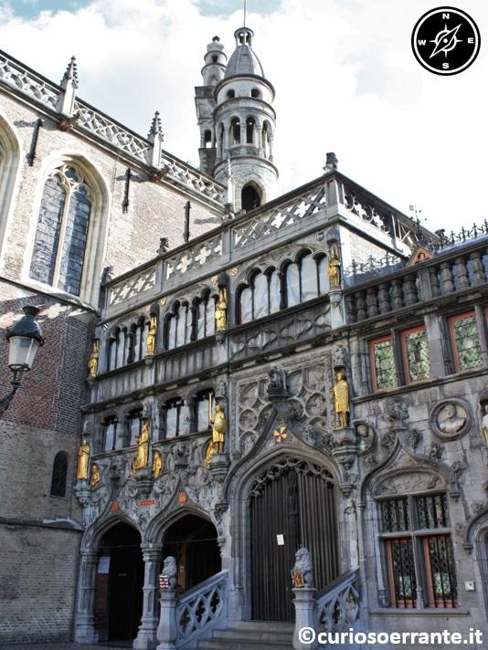 Bruges - la Basilica del Sacro Sangue (Heiligbloed Basieliek )