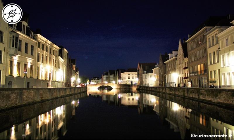 I numerosi canali di Bruges