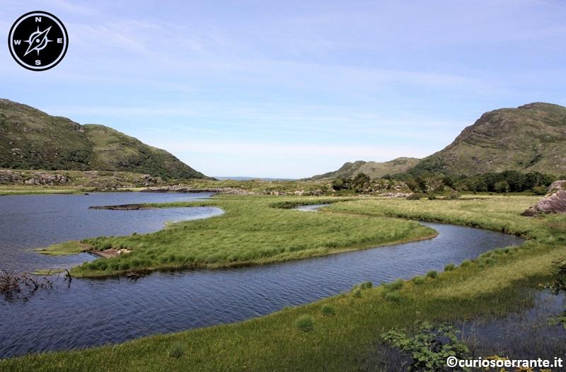 I Laghi di Killarney - Long Range River tra Upper Lake e Muckross Lake